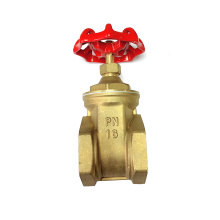 Forging body brass gate valve