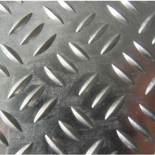 Factory Supply Factory price for Check Plate 4x8 Aluminum Roll of Sheet 2mm Thick Checkered Plate supply to Guadeloupe Factories
