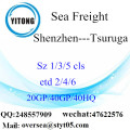 Shenzhen Port Sea Freight Shipping To Tsuruga