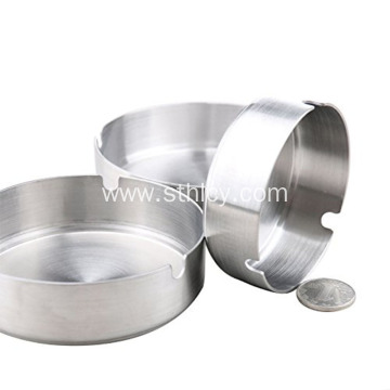 Logo Cheap Stainless Steel Stand Metal Customize Ashtray