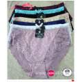 1620 period time ptined allove lace high cut hipster cotton woven underwear panties