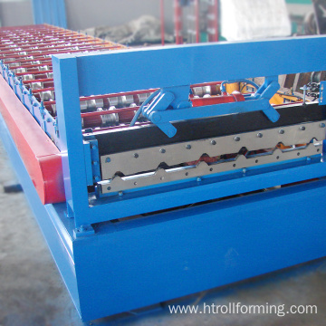 Wholesale customized length roof botou metal roofing machine