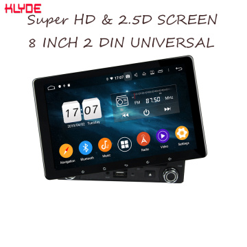 Android 2din car dvd player universale