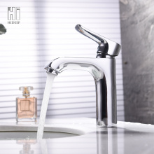 Customized for Wash Basin Black Faucet HIDEEP Copper Single Handle Basin Mixer export to United States Exporter