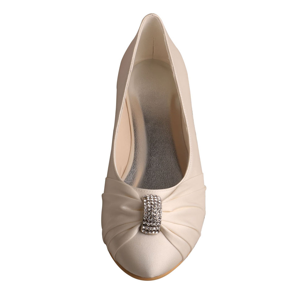 Ivory Wedding Flat Shoes