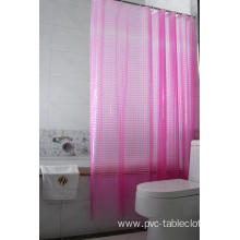 3D EVA Shower Curtain for Shower Stall