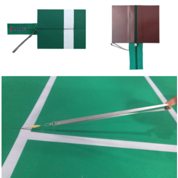 Portable Badminton Zipper Mats For Events