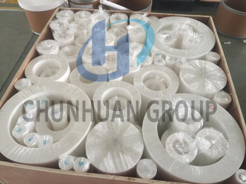 PTFE white virgin tube rod and filled