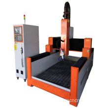 Heavy duty stone cnc carving machine