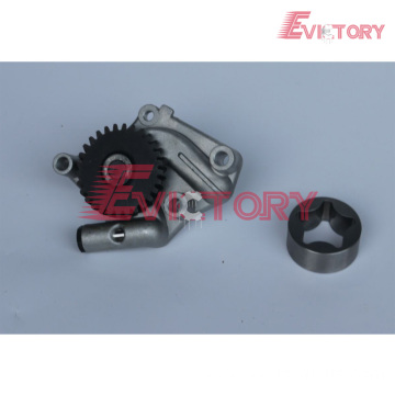 VOLVO parts D4E water pump D4E oil pump