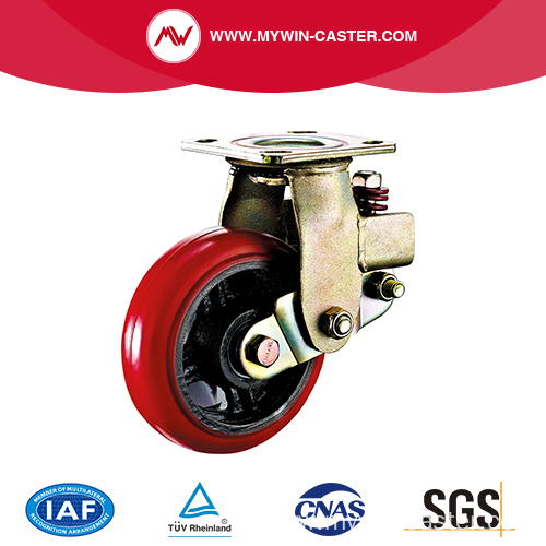 Swivel Plate Shock Absorbing Caster