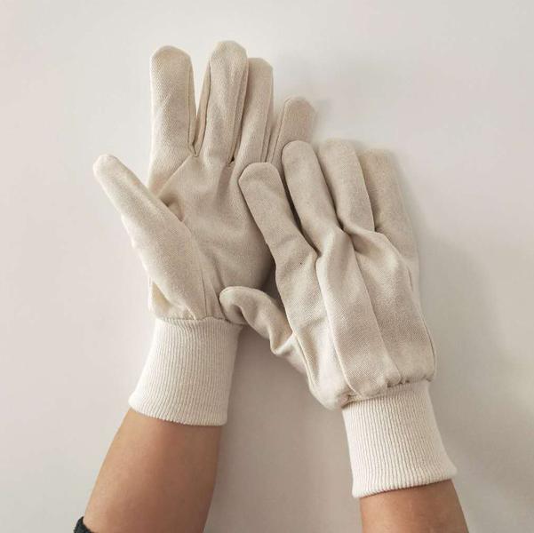 Guanti da Lavoro in Maglina Elastica con Grip Antiscivolo 10 Paia Taglia Unica