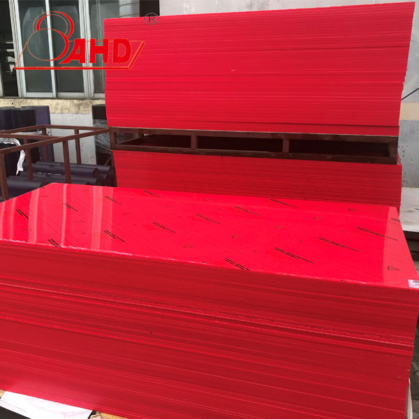 Red Hdpe Sheets