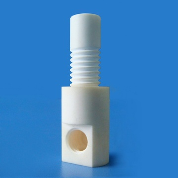 Machining threaded C799 alumina ceramic dowel pin