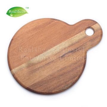 Round Shape Multifunctional Wood Cutting Board