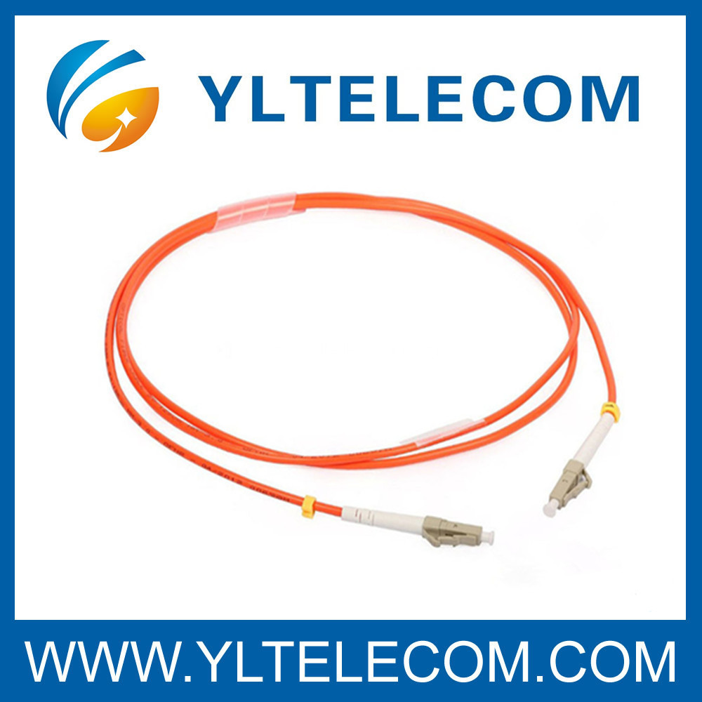Multi Mode Duplex LC To LC Fiber Optic Patch Cord For CATV / FTTH / LAN