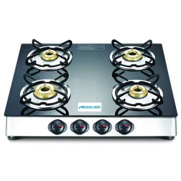 Marvel Plus Glass Top Gas Table 4 Burners