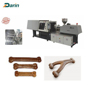 Lowest Price for Pet Treats Molding Machine Injection Molded Pet Chewing Snack Making Machine export to Yemen Suppliers