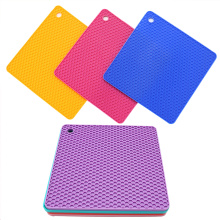Square Silicone Pot Holders For Kitchen Tools