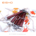 EISHO Wooden Skirts Pants Hanger With Clips