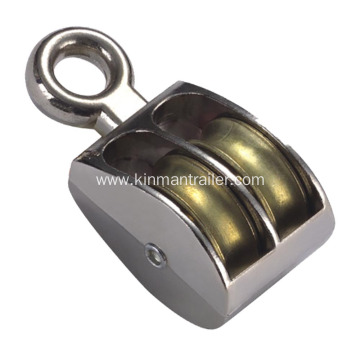 Steel Double Sheave Pulley Block