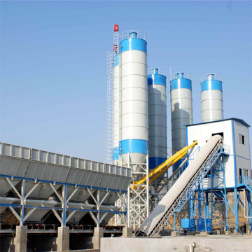 HZS60 container construction use concrete batching plant