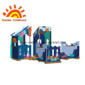 Colorful Playhouse Outdoor Playground Equipment For Children