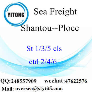 Shantou Port LCL Consolidation To Ploce