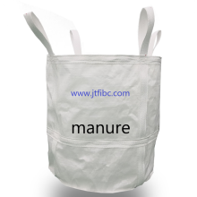 Big bulk bag manure