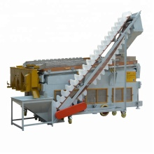 high capacity agricultural grain seed cleaner/seed cleaning machinery