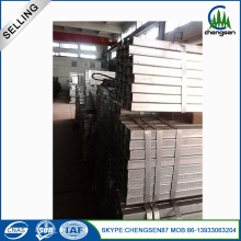China Factories for Rectangular Pipe Mild Steel Seamless Black Rectangular Pipe supply to French Polynesia Manufacturer