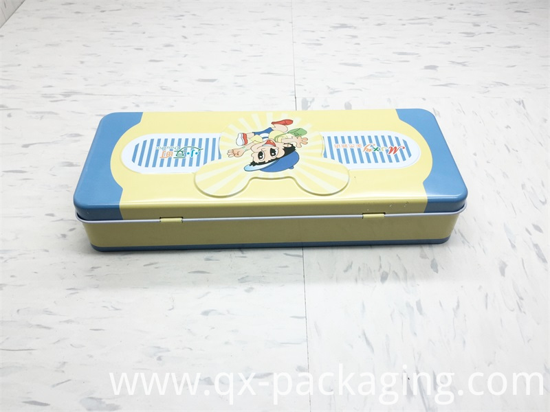Tin Pencil Box