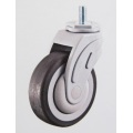 5 in. PU Medical Caster - Square Stem and Brake