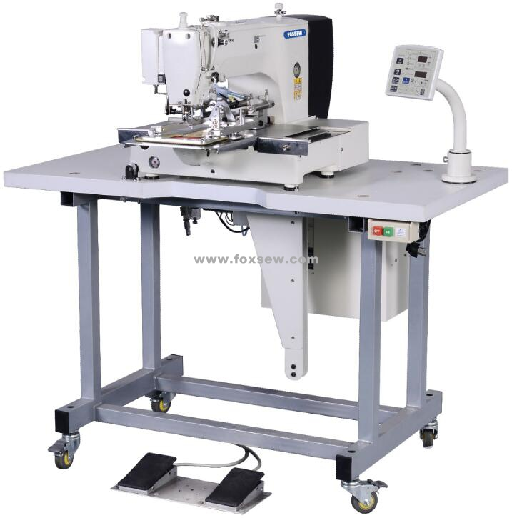 automatic-label-attaching-sewing-machine