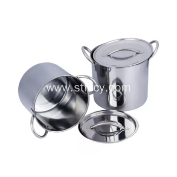 Thickened Straight Stainless Steel Stockpot/Soup pot