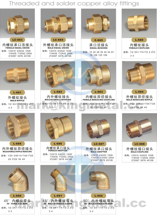 Brass Uion fitting