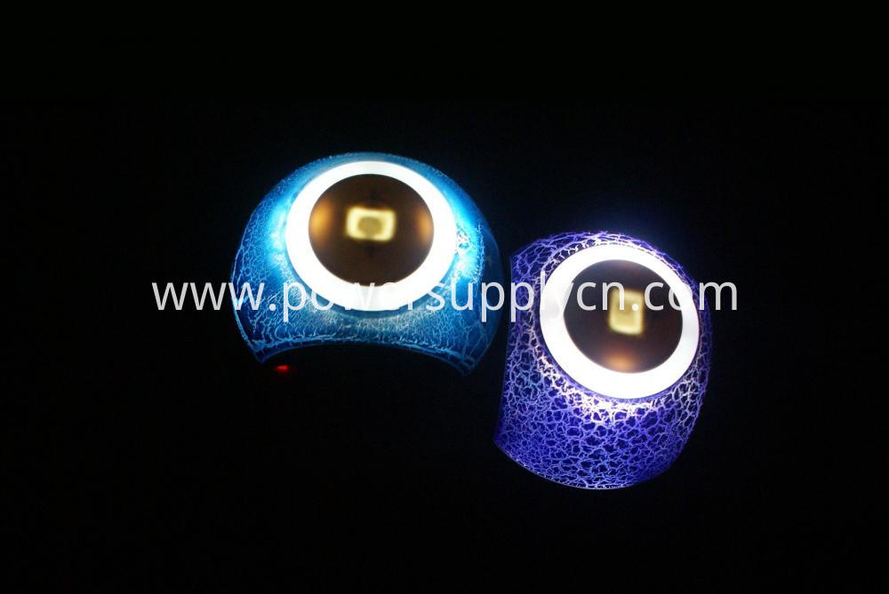 5v 2 1a Dual Usb Charger With Touching Led Night Lamp