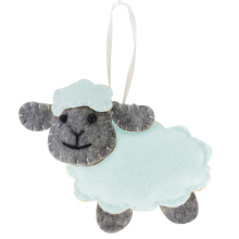 Easter cute sheep pendant