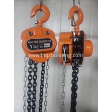 Good quality 100% for Manual Chain Block HSC High Quality Chain Blocks Manual Hand Hoists export to Italy Factory