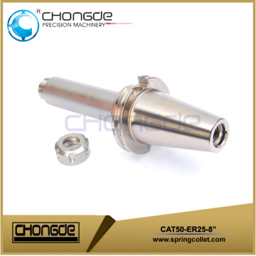 "CAT50-ER16M-8"" Collet Chuck CNC Machine Tool Holder"