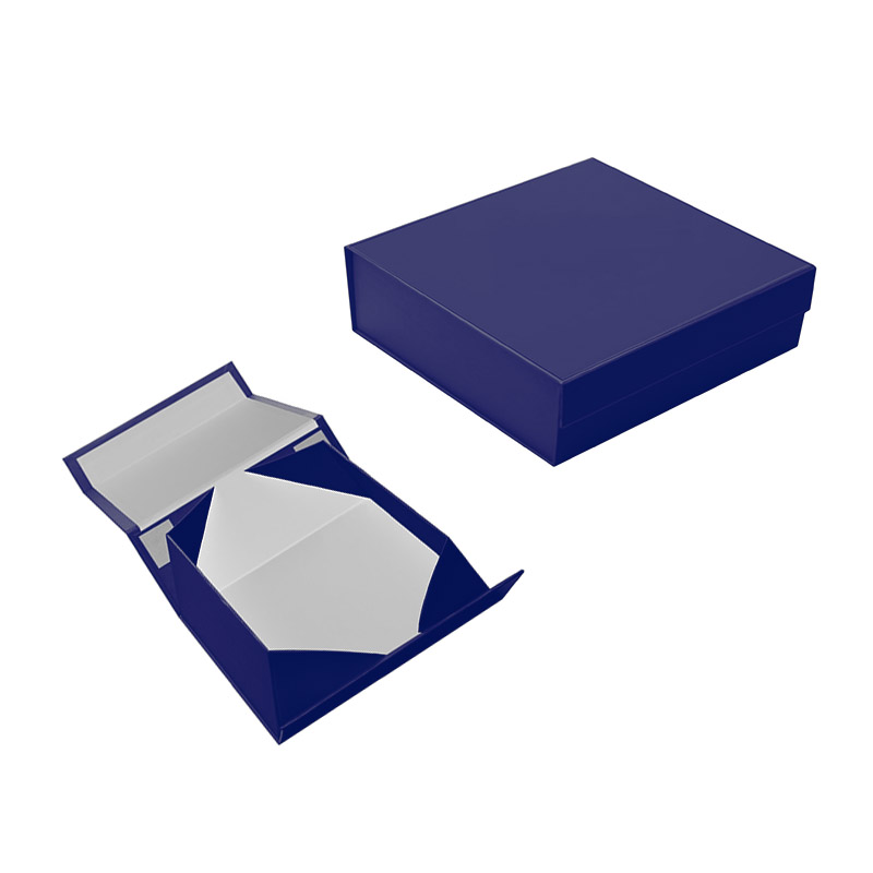 the high-grade color folding gift box