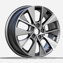 Gunmetal Polished KIA Replica Wheels