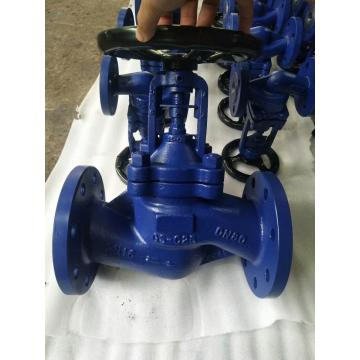 Ductile iron rubber wedge gate valve