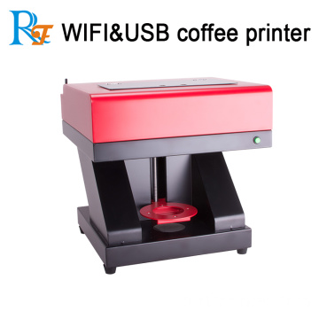 3D dijital inkjet COFFEE baskı makinesi