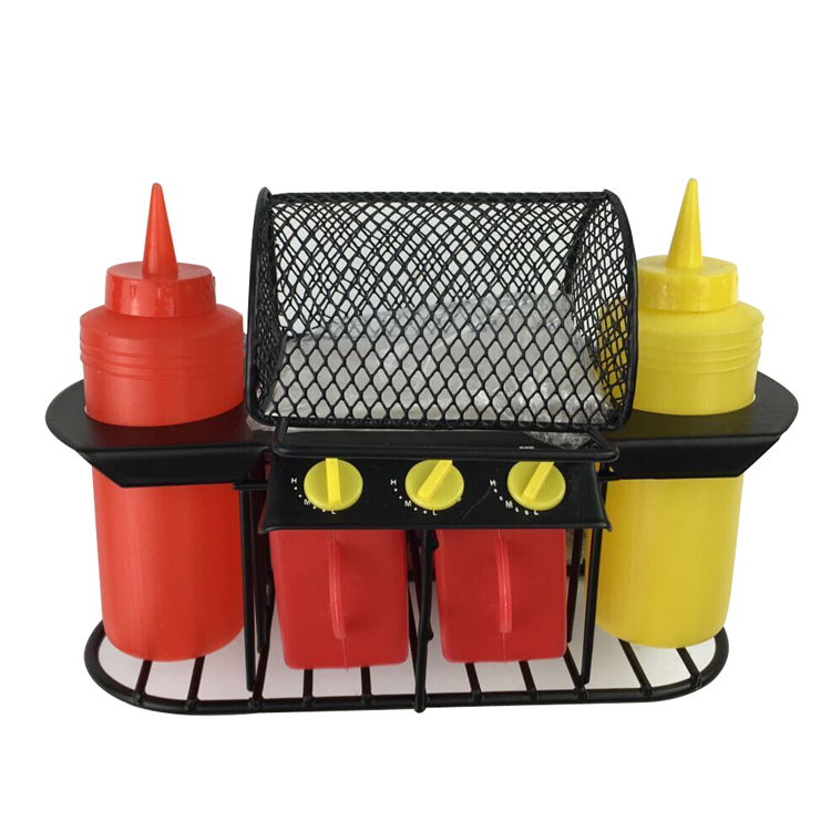 bbq grill condiment set