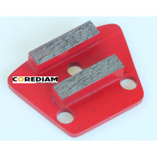2 Segments Diamond Grinding Plate