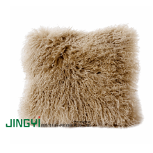 China Factories for Mongolian Sheep Fur Cushions Sheep Skin Fur Cushion supply to Ukraine Factories