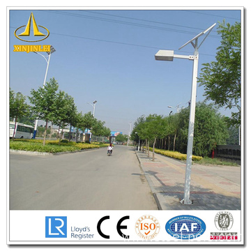 Single Arm Solar Street Light Poles