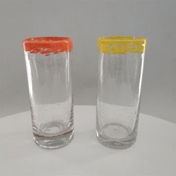 Solid color decor highball glass for water