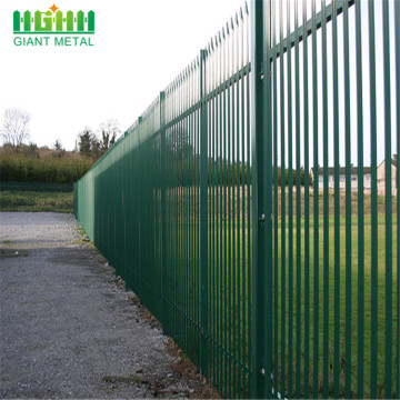 Factory Supply Industrial Metal Steel Palisade Fencing Panel